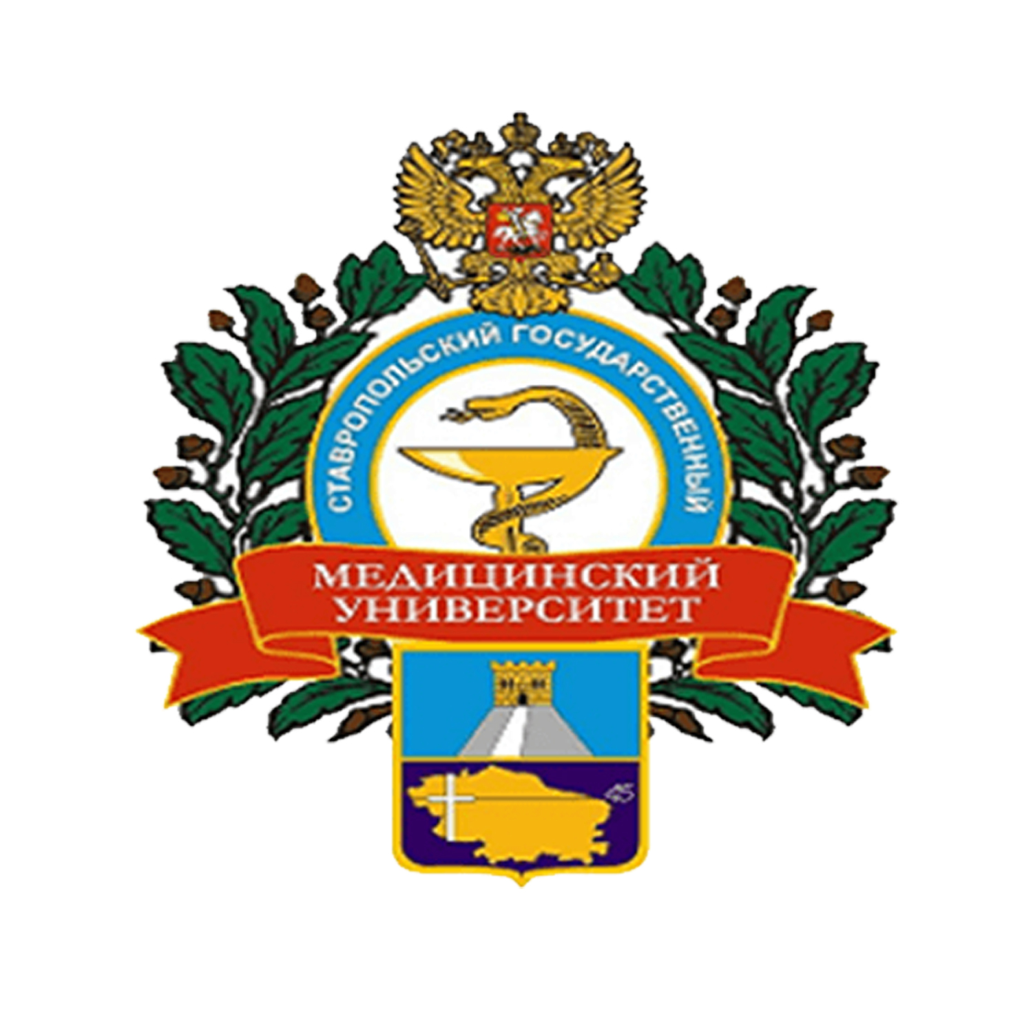 stavropol state medical university logo
